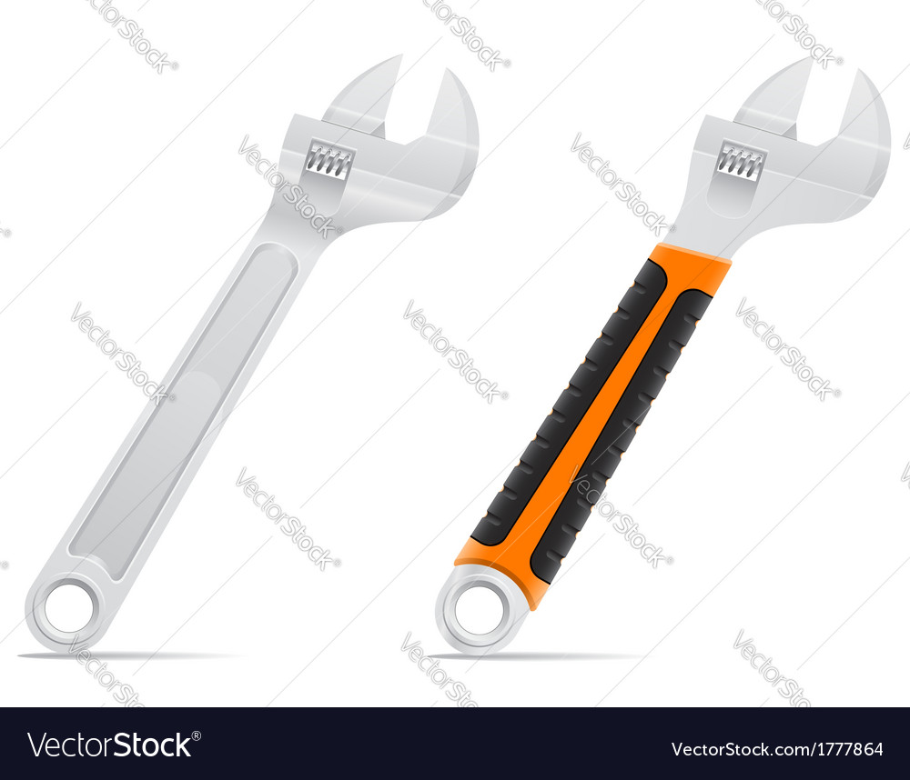 Tool screw wrench 03 vector   Price: 1 Credit (USD $1)