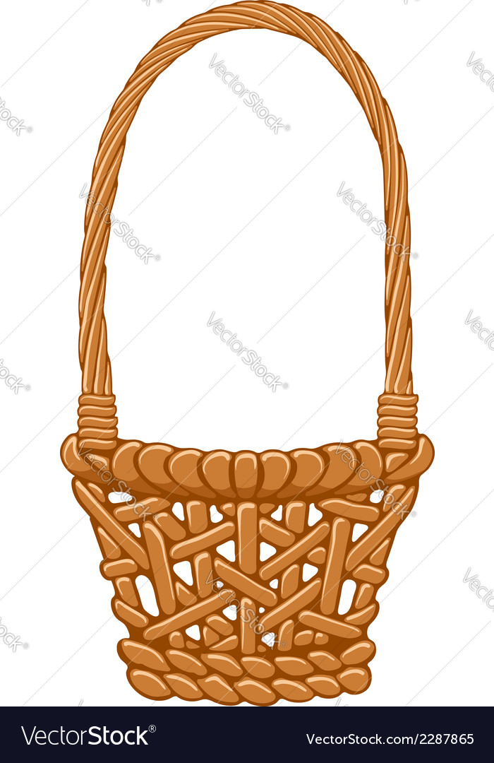 Basket vector | Price: 1 Credit (USD $1)