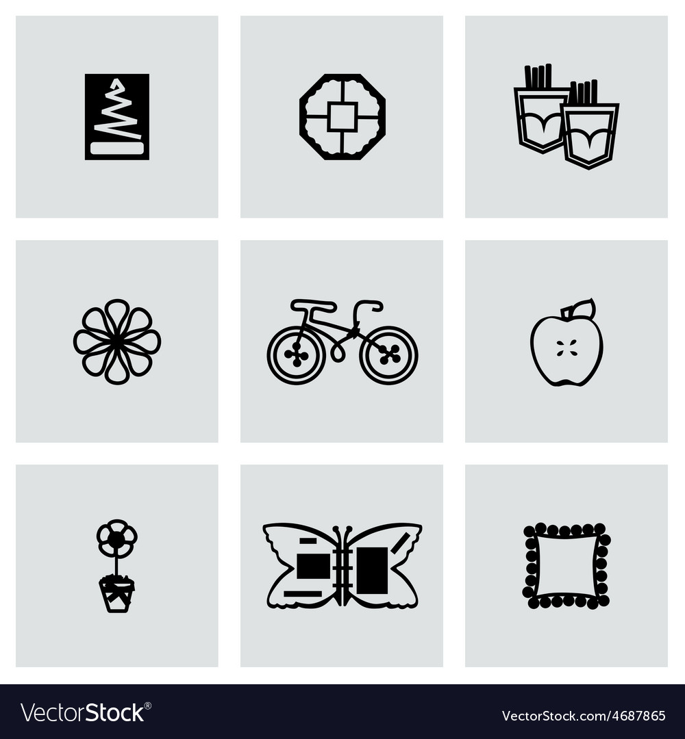 Handmade icon set vector | Price: 1 Credit (USD $1)
