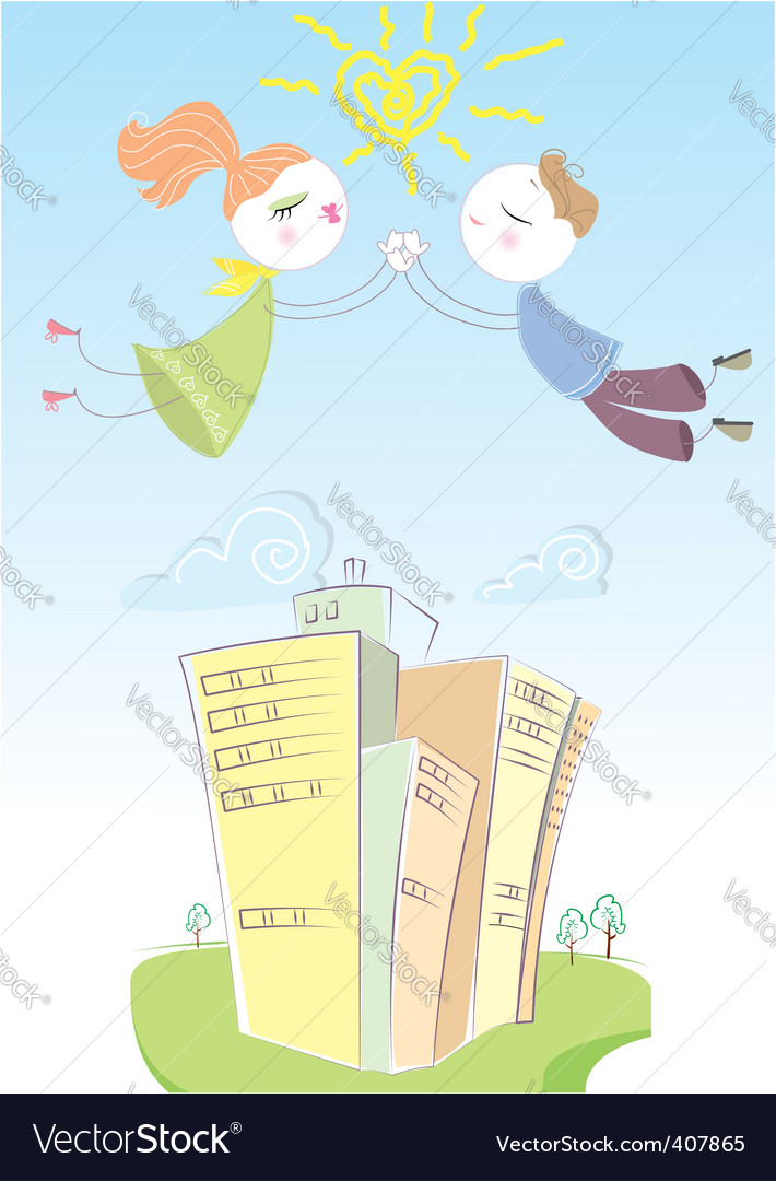 Love story vector | Price: 1 Credit (USD $1)