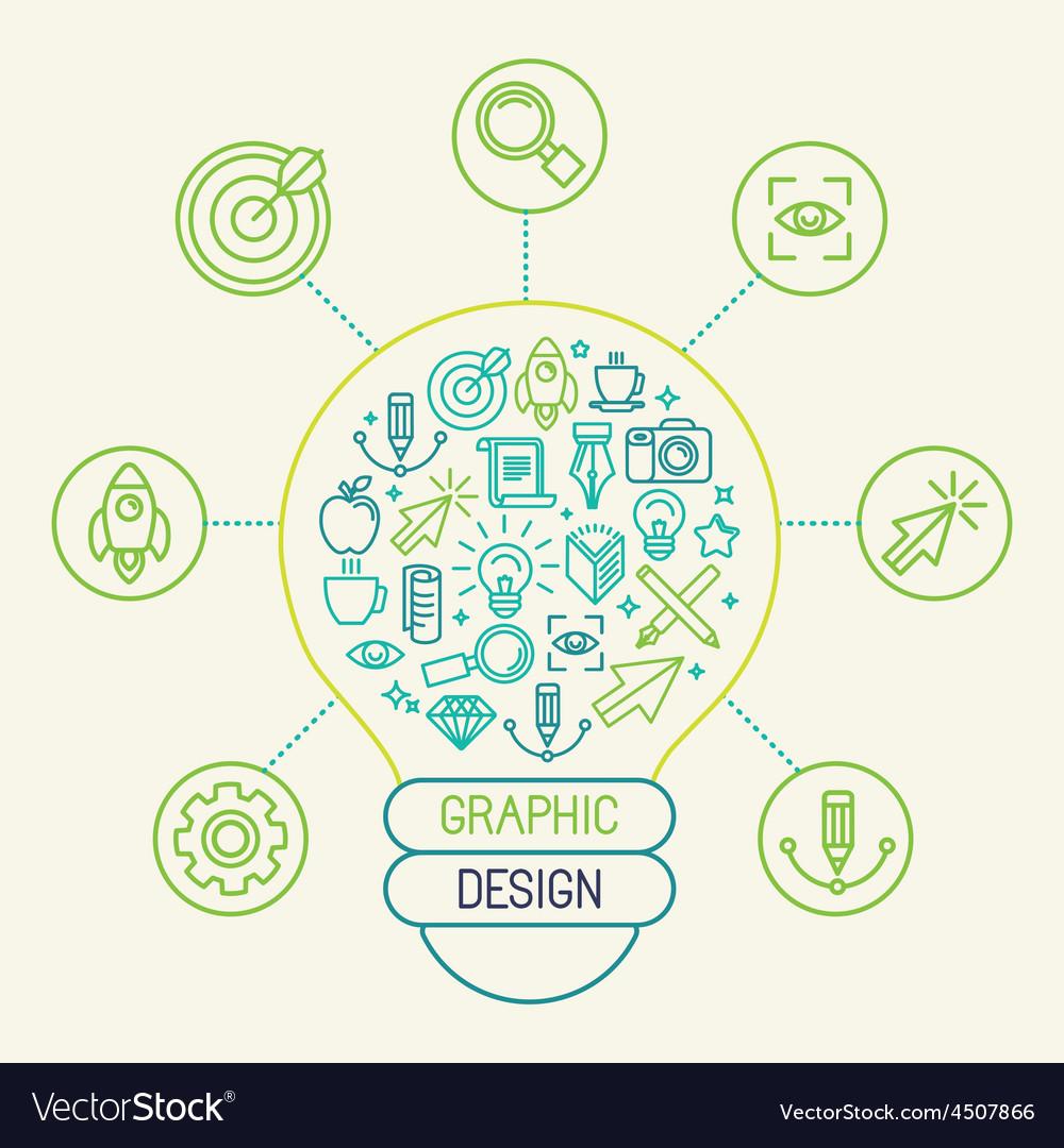 Graphic design concept vector | Price: 1 Credit (USD $1)