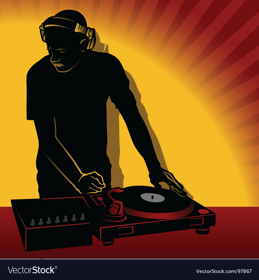Dj action vector | Price: 1 Credit (USD $1)
