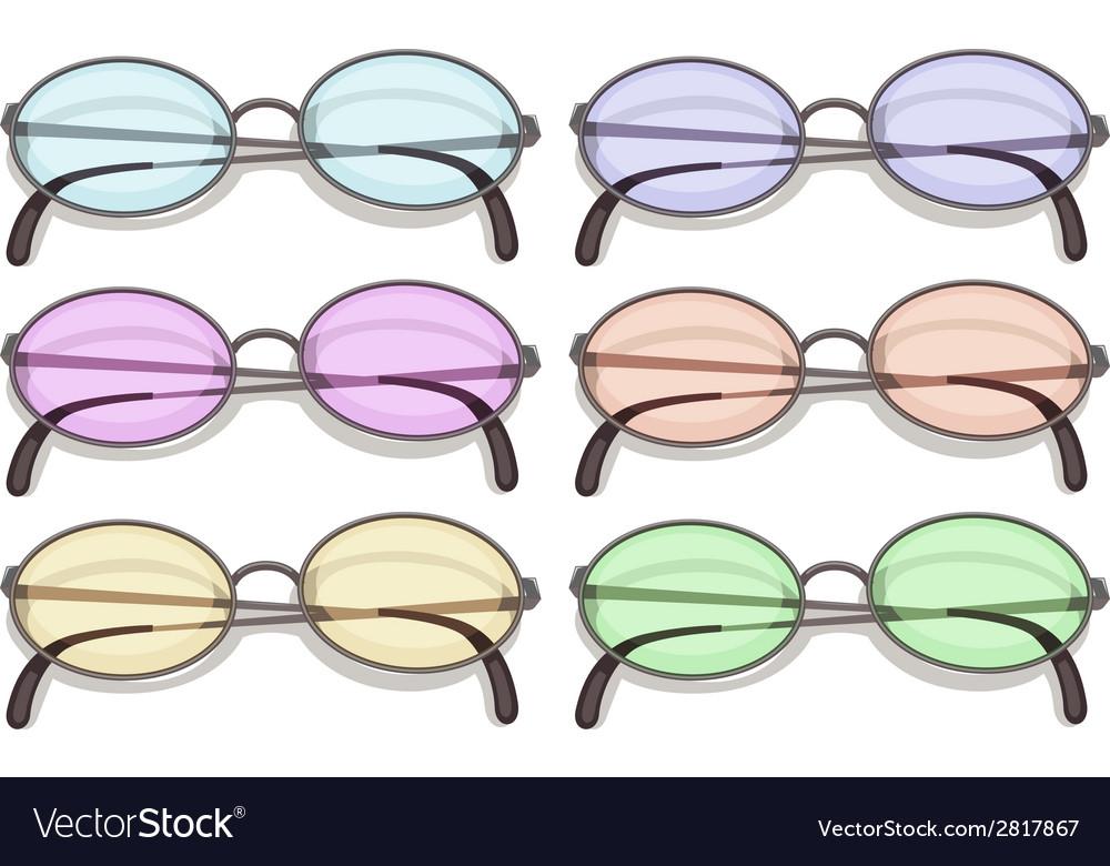 Eyeglasses vector | Price: 1 Credit (USD $1)
