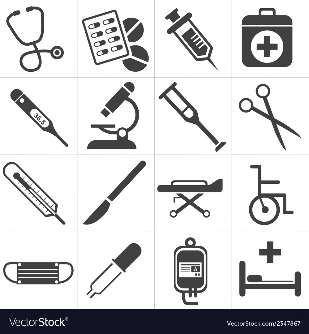 Icon medical vector | Price: 1 Credit (USD $1)