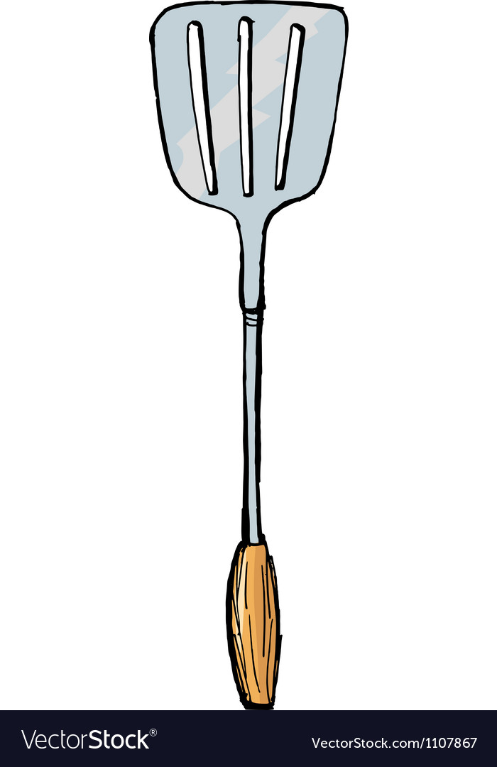 Spatula vector | Price: 1 Credit (USD $1)