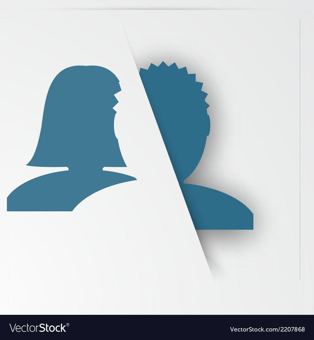 Abstact people template family icon vector | Price: 1 Credit (USD $1)