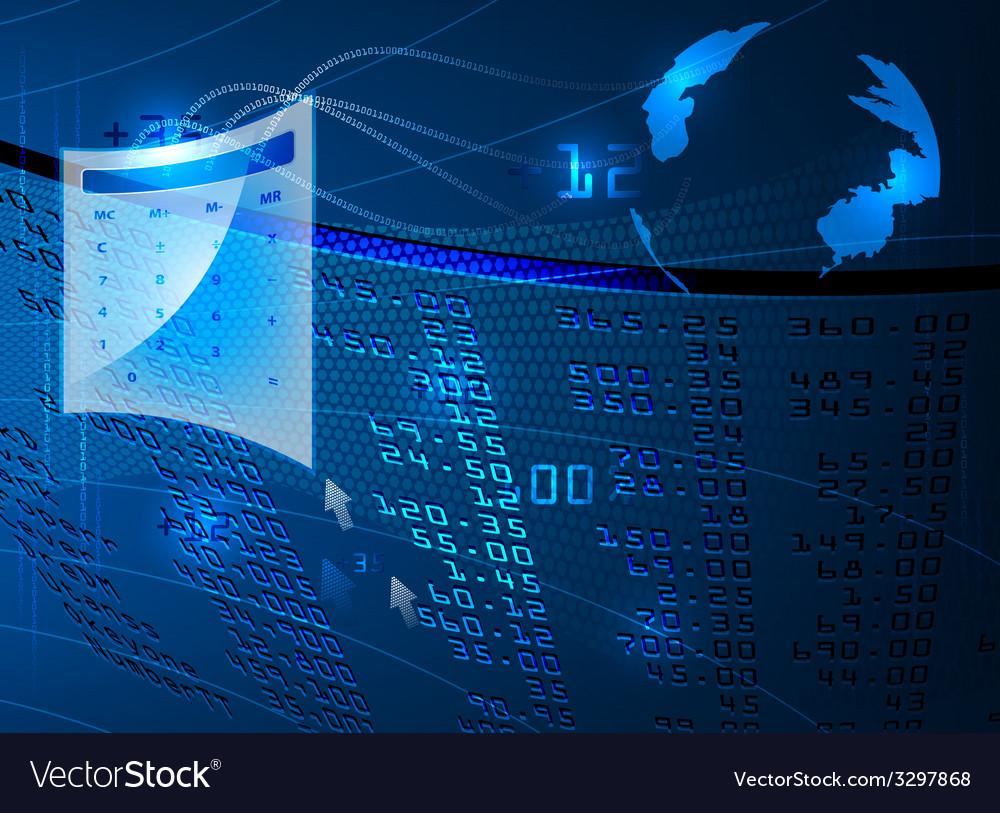 Display stock market vector | Price: 1 Credit (USD $1)