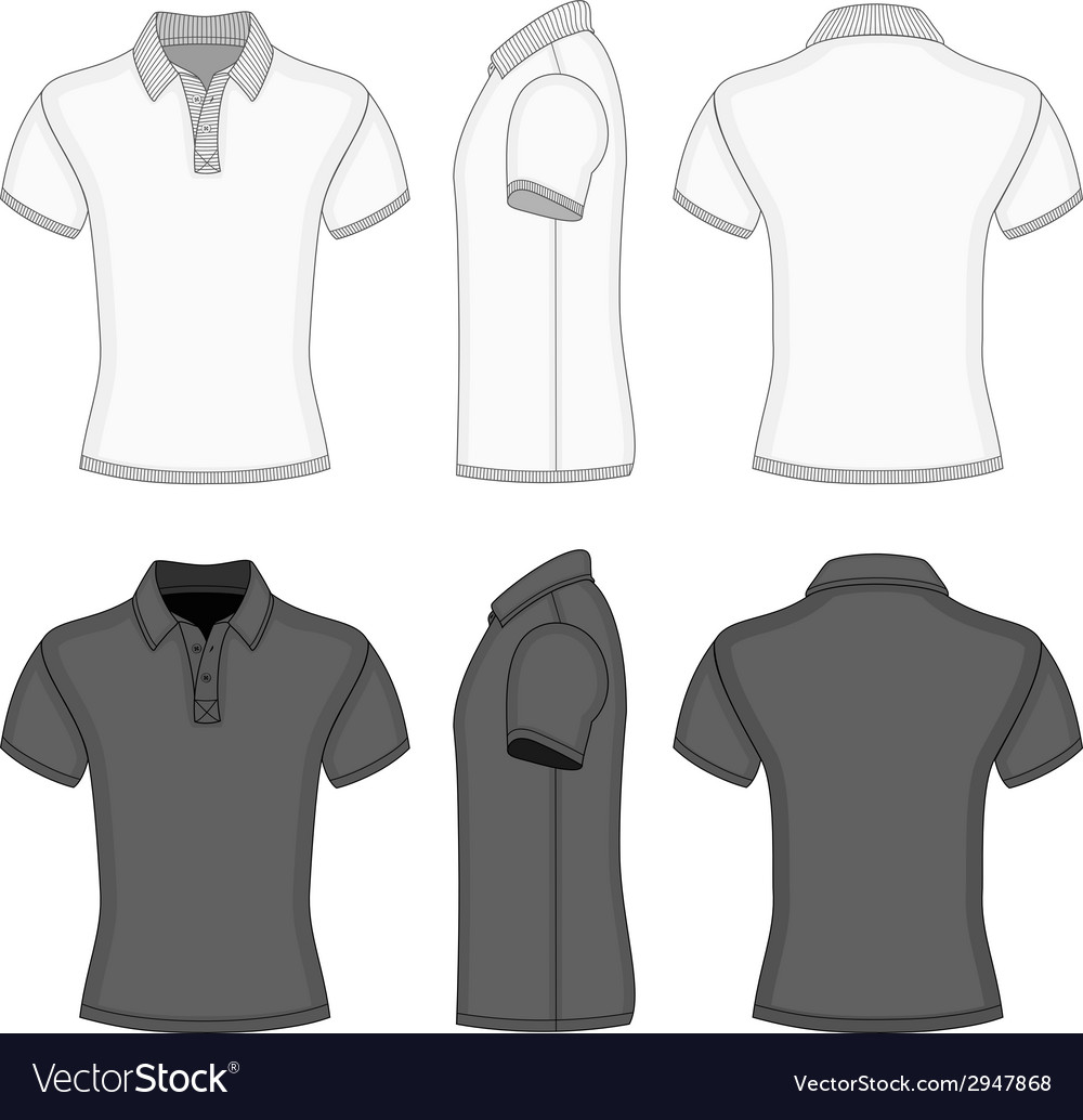 Mens polo shirt and t-shirt design templates vector | Price: 1 Credit (USD $1)