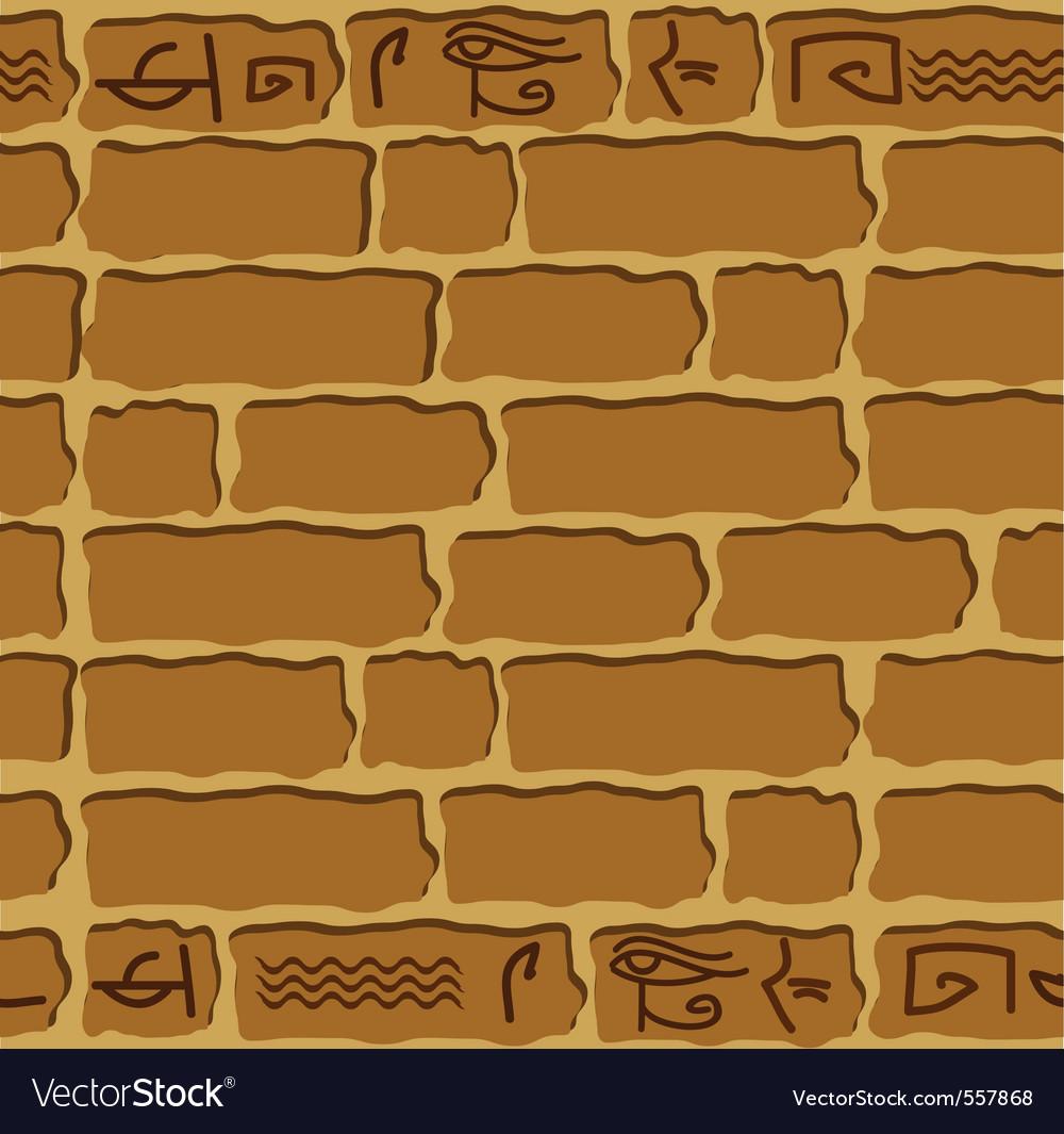 Seamless hieroglyphs vector   Price: 1 Credit (USD $1)