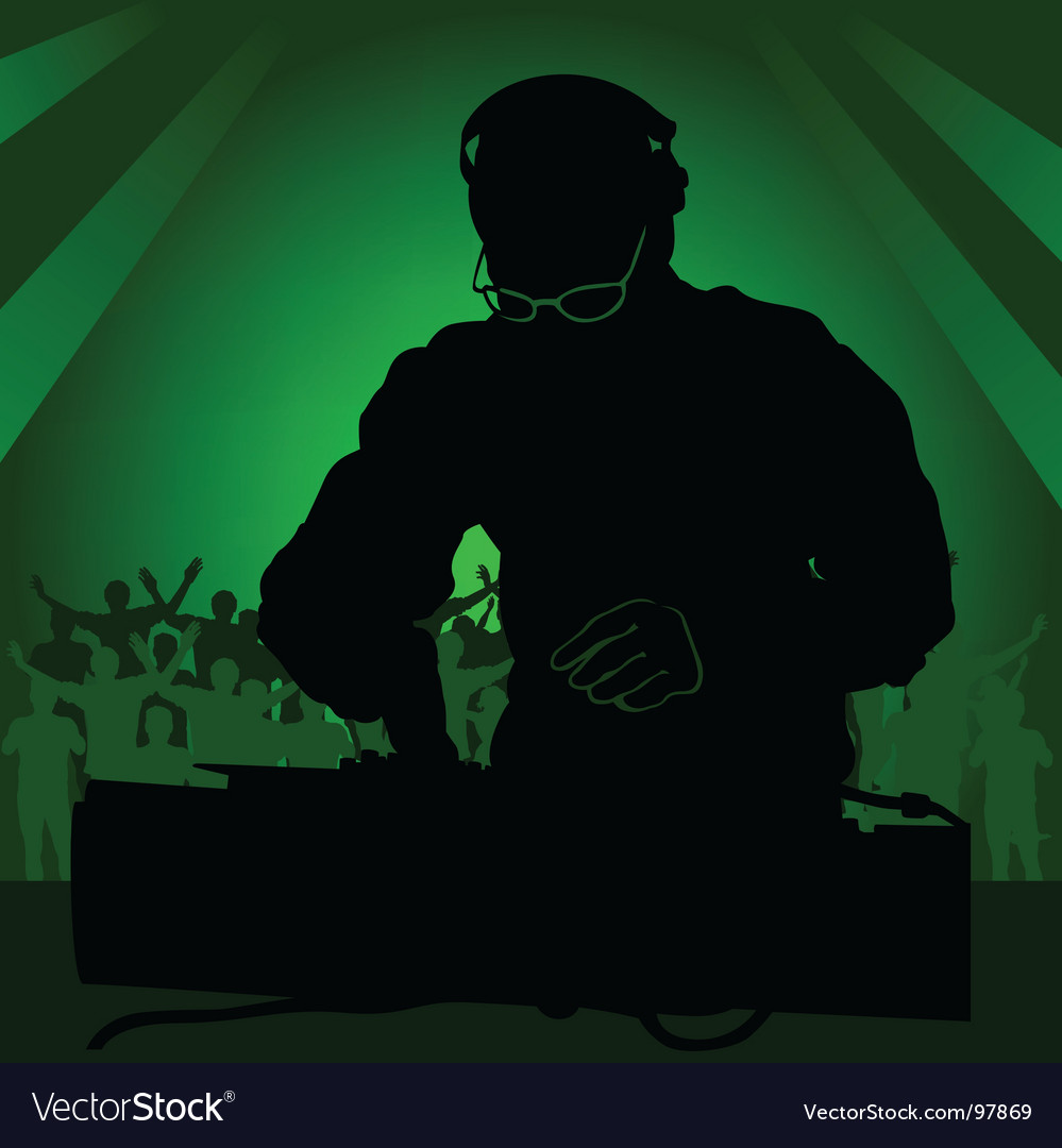 Dj in work vector | Price: 1 Credit (USD $1)