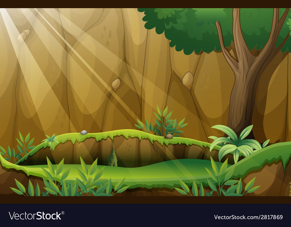 Jungle vector | Price: 3 Credit (USD $3)
