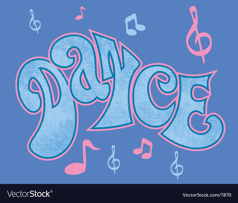 Dance logo vector | Price: 1 Credit (USD $1)