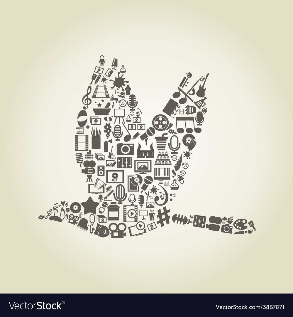 Bird art vector | Price: 1 Credit (USD $1)