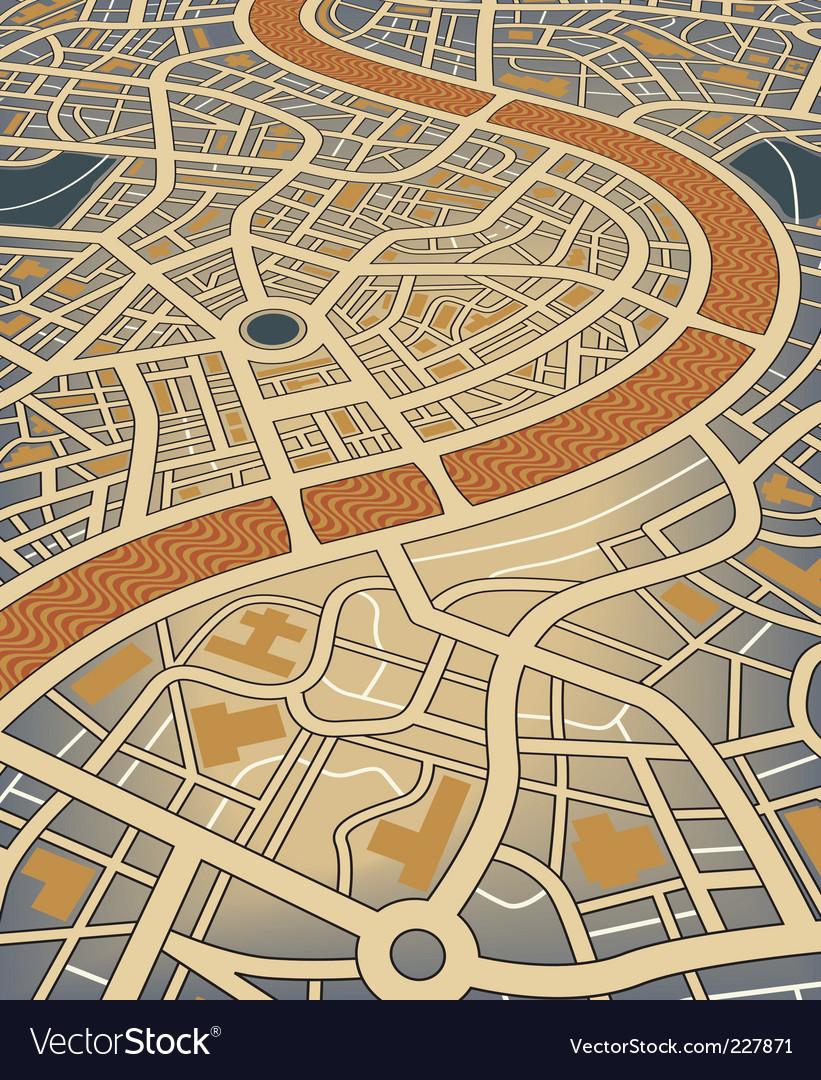 City map vector   Price: 1 Credit (USD $1)