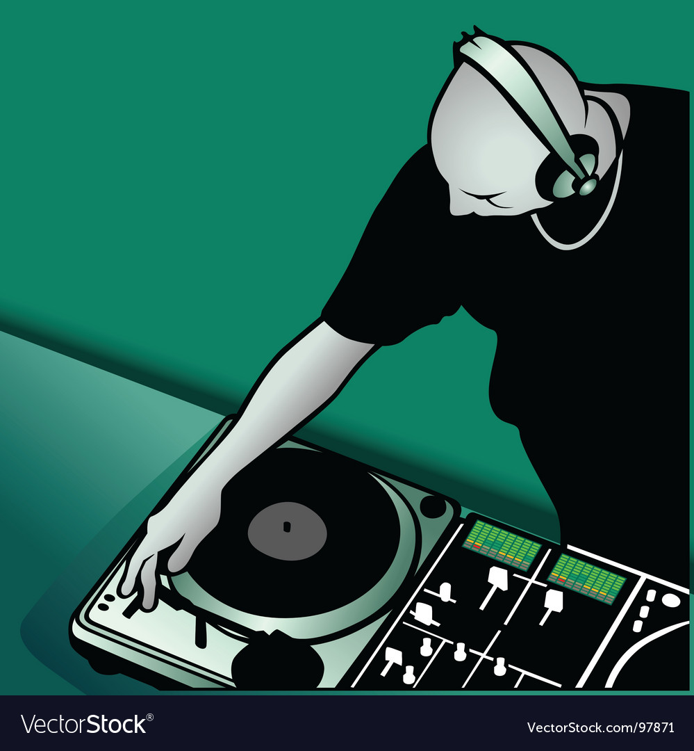 Dj mixing vector | Price: 1 Credit (USD $1)