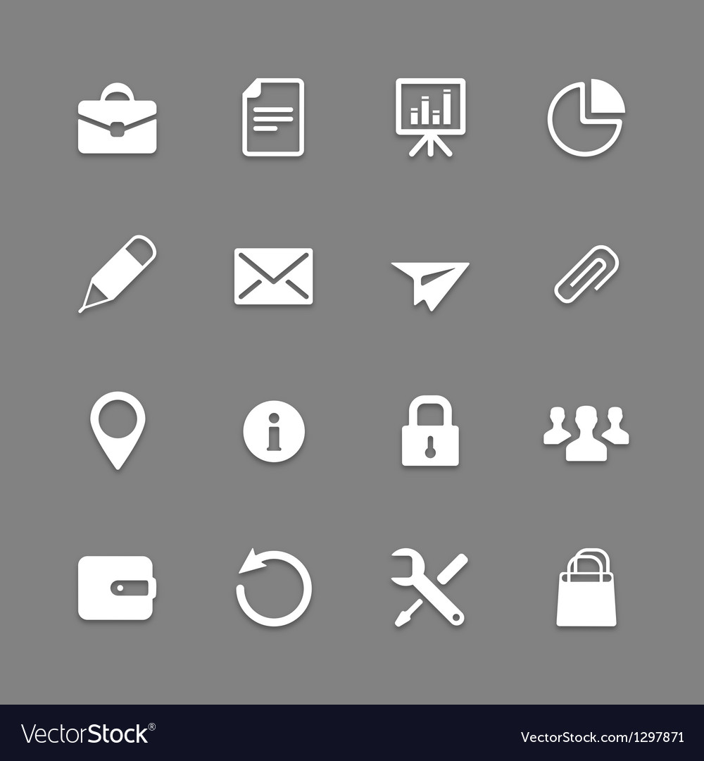 Icon set for web and mobile vector | Price: 1 Credit (USD $1)