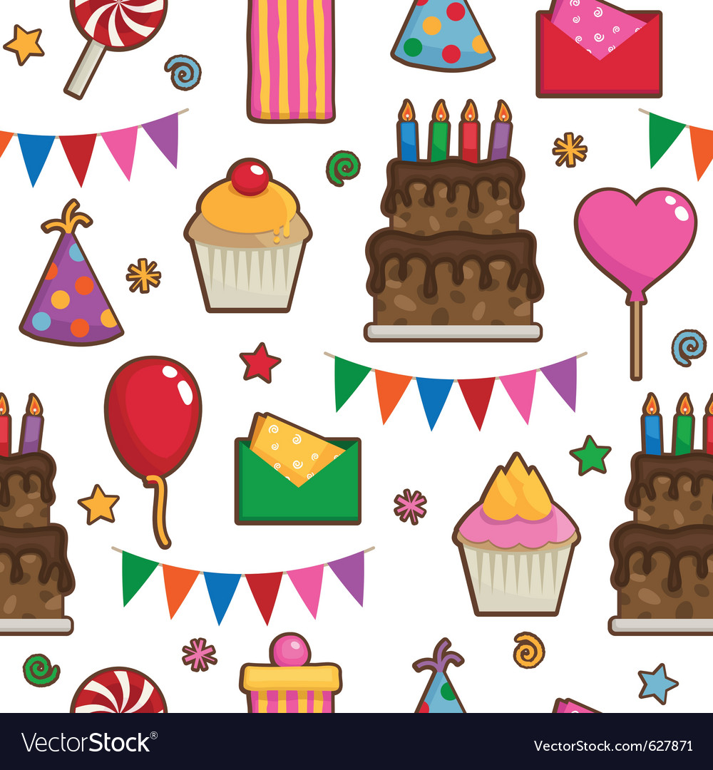 Party pattern vector | Price: 1 Credit (USD $1)