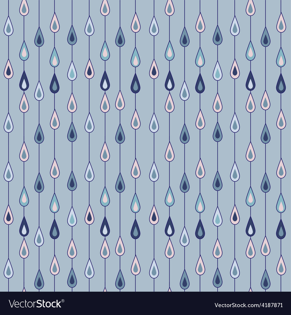 Raindrops pattern vector | Price: 1 Credit (USD $1)