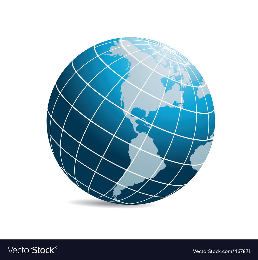 World icon vector | Price: 1 Credit (USD $1)