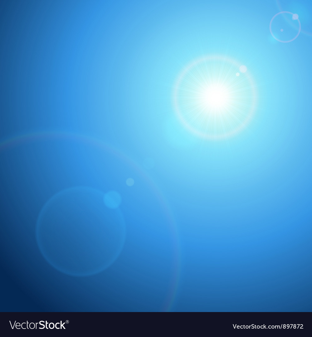 Abstraction light with lens flare background vector   Price: 1 Credit (USD $1)