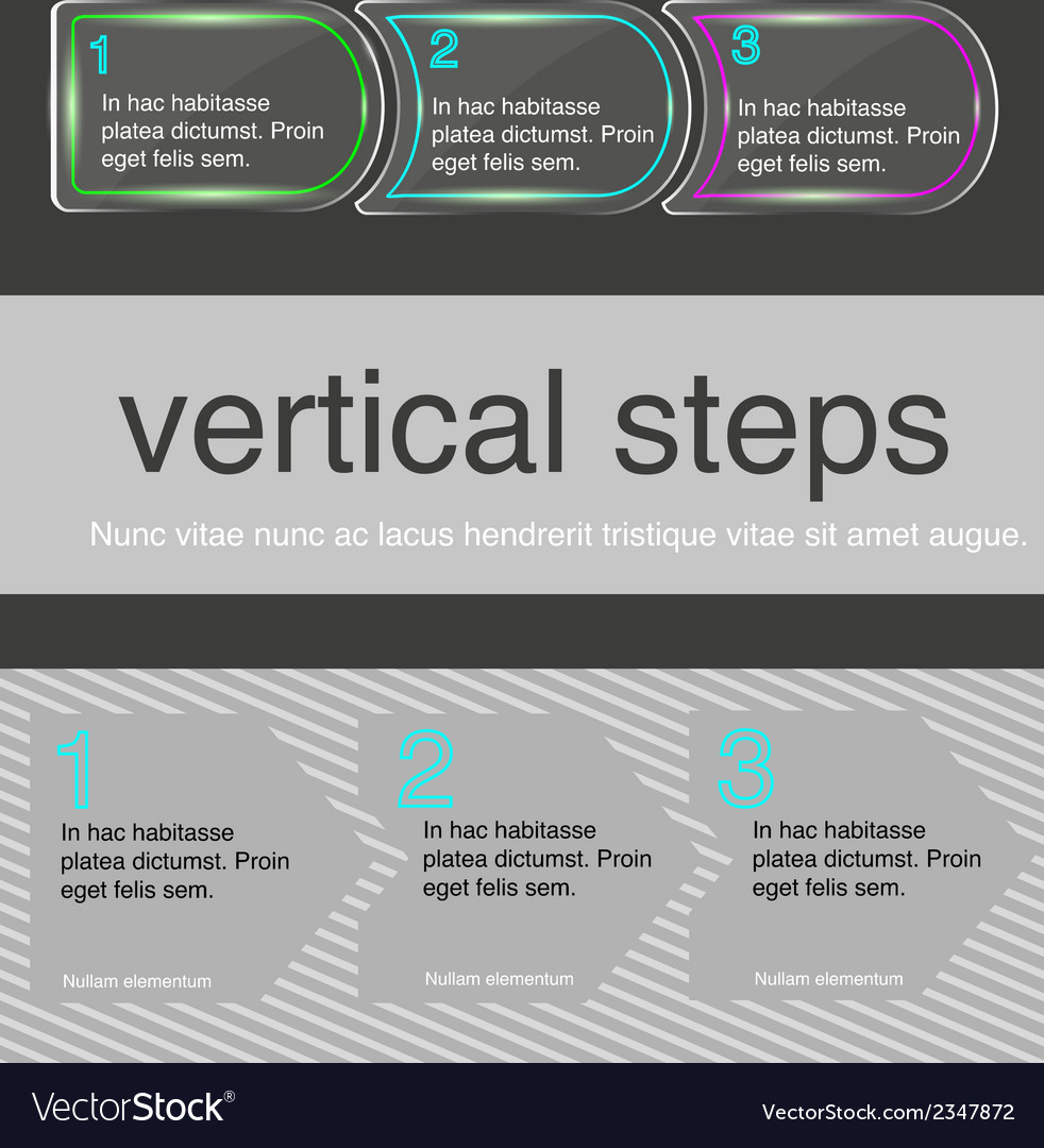 Horizontal steps vector | Price: 1 Credit (USD $1)