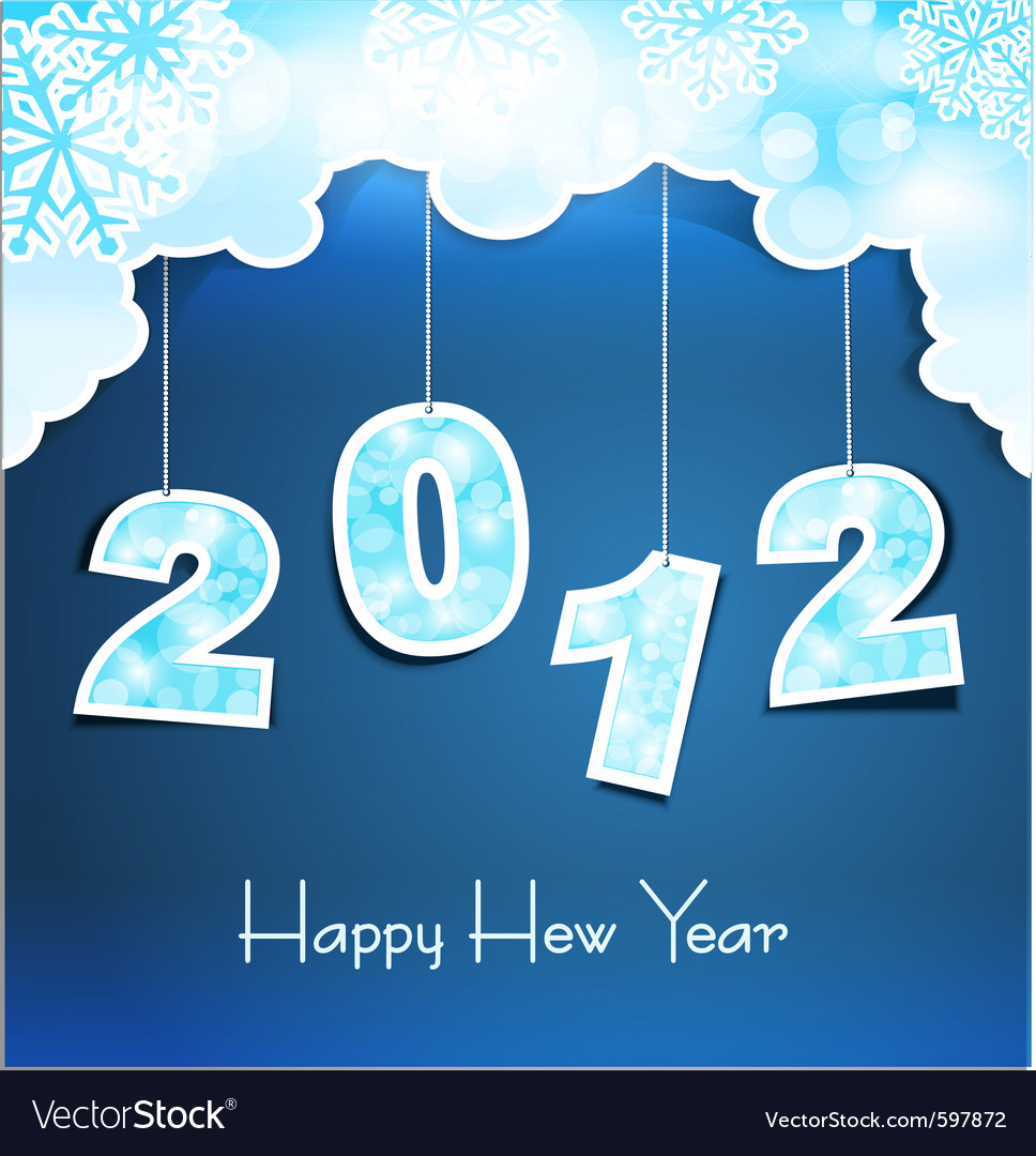 New year holiday vector | Price: 1 Credit (USD $1)