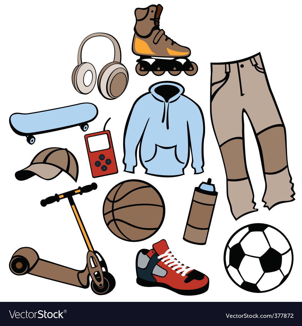 Urban life style vector | Price: 1 Credit (USD $1)