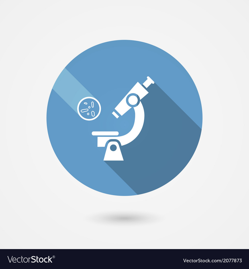 Biochemistry and microbiology icon vector | Price: 1 Credit (USD $1)