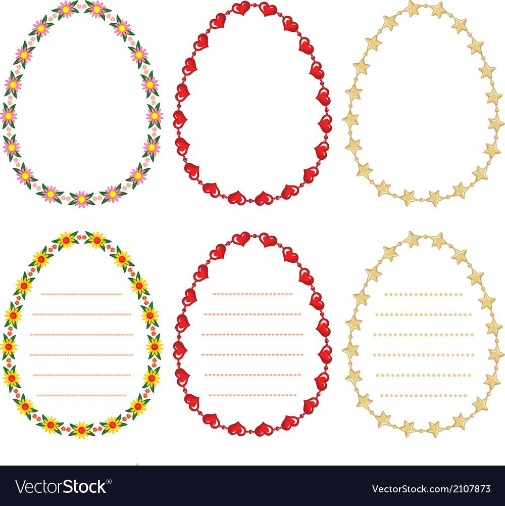 Border egg vector   Price: 1 Credit (USD $1)