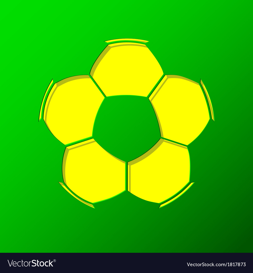 Soccer ball background vector | Price: 1 Credit (USD $1)