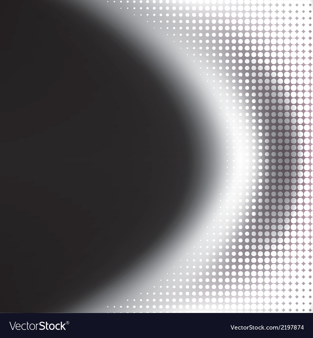 Abstract grey halftone background vector   Price: 1 Credit (USD $1)