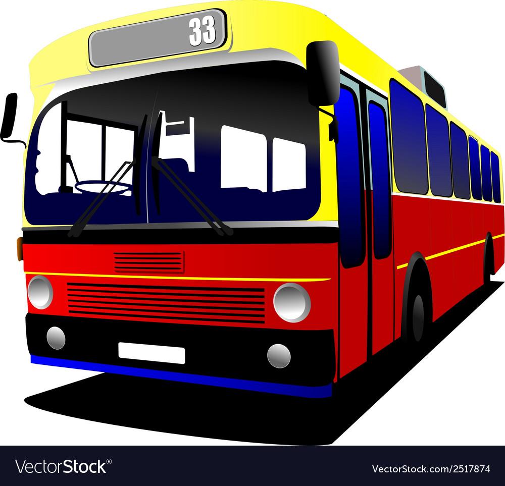Al 0306 bus vector | Price: 1 Credit (USD $1)