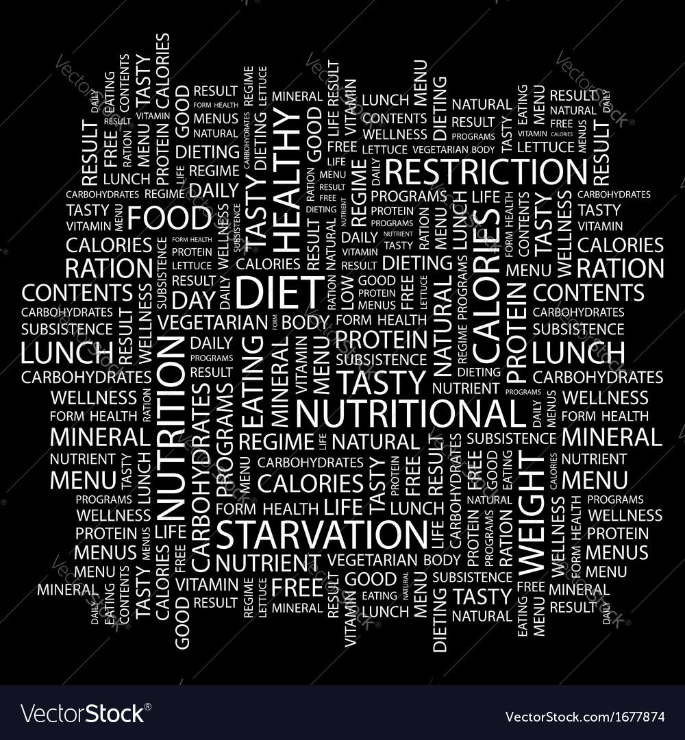 Diet vector | Price: 1 Credit (USD $1)