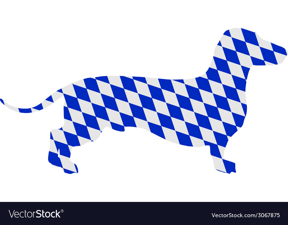 Bavarian badger vector | Price: 1 Credit (USD $1)