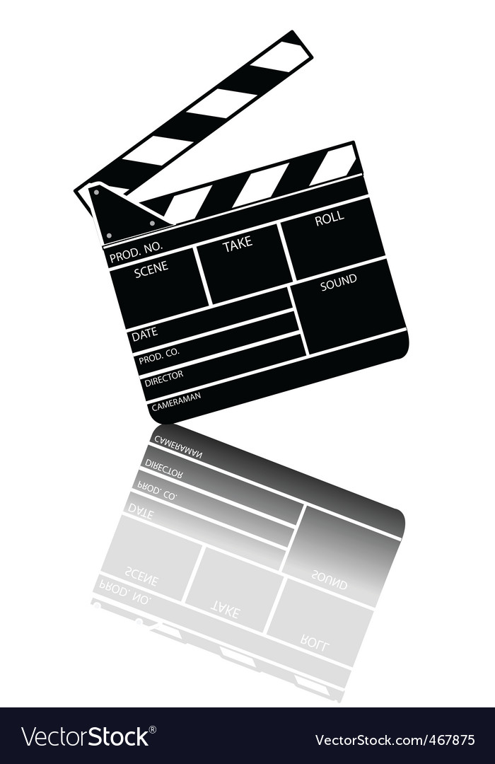 Entertainment clapper vector | Price: 1 Credit (USD $1)