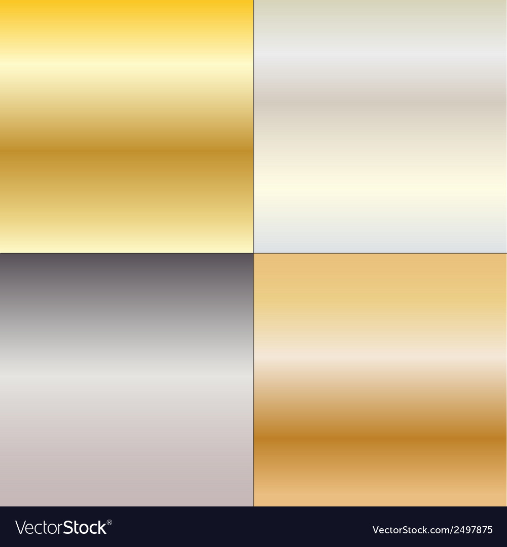 Metal gradients vector | Price: 1 Credit (USD $1)