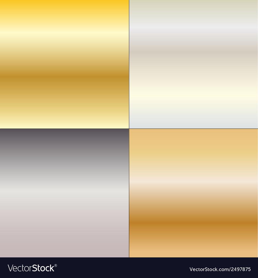 Metal gradients vector | Price: 1 Credit (USD $1)