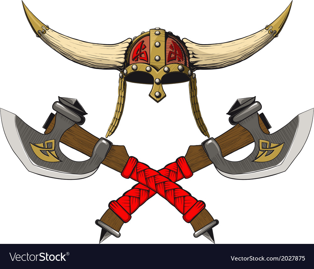 Viking emblem vector | Price: 1 Credit (USD $1)