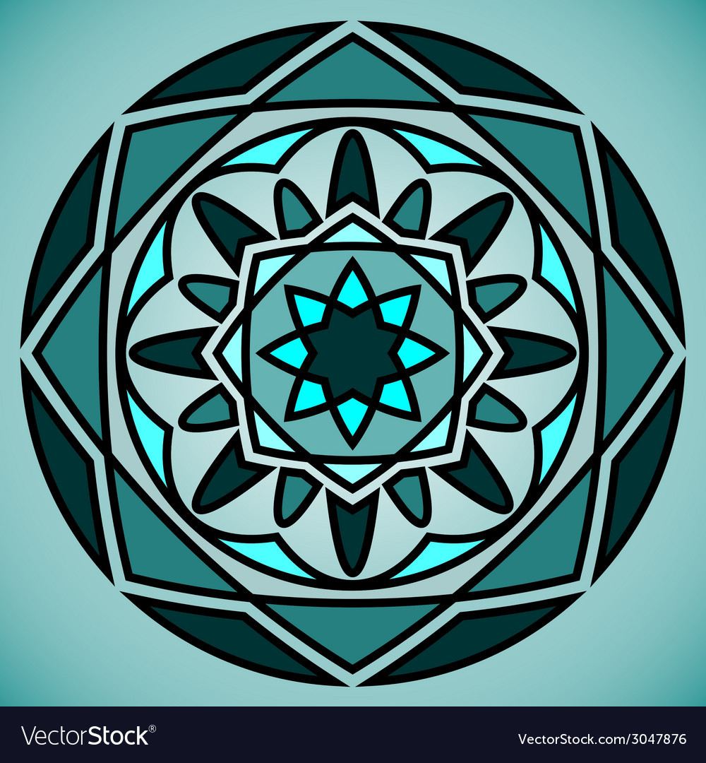 Abstract ornament vector | Price: 1 Credit (USD $1)