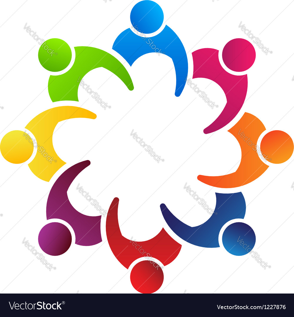 People meeting 8 vector | Price: 1 Credit (USD $1)