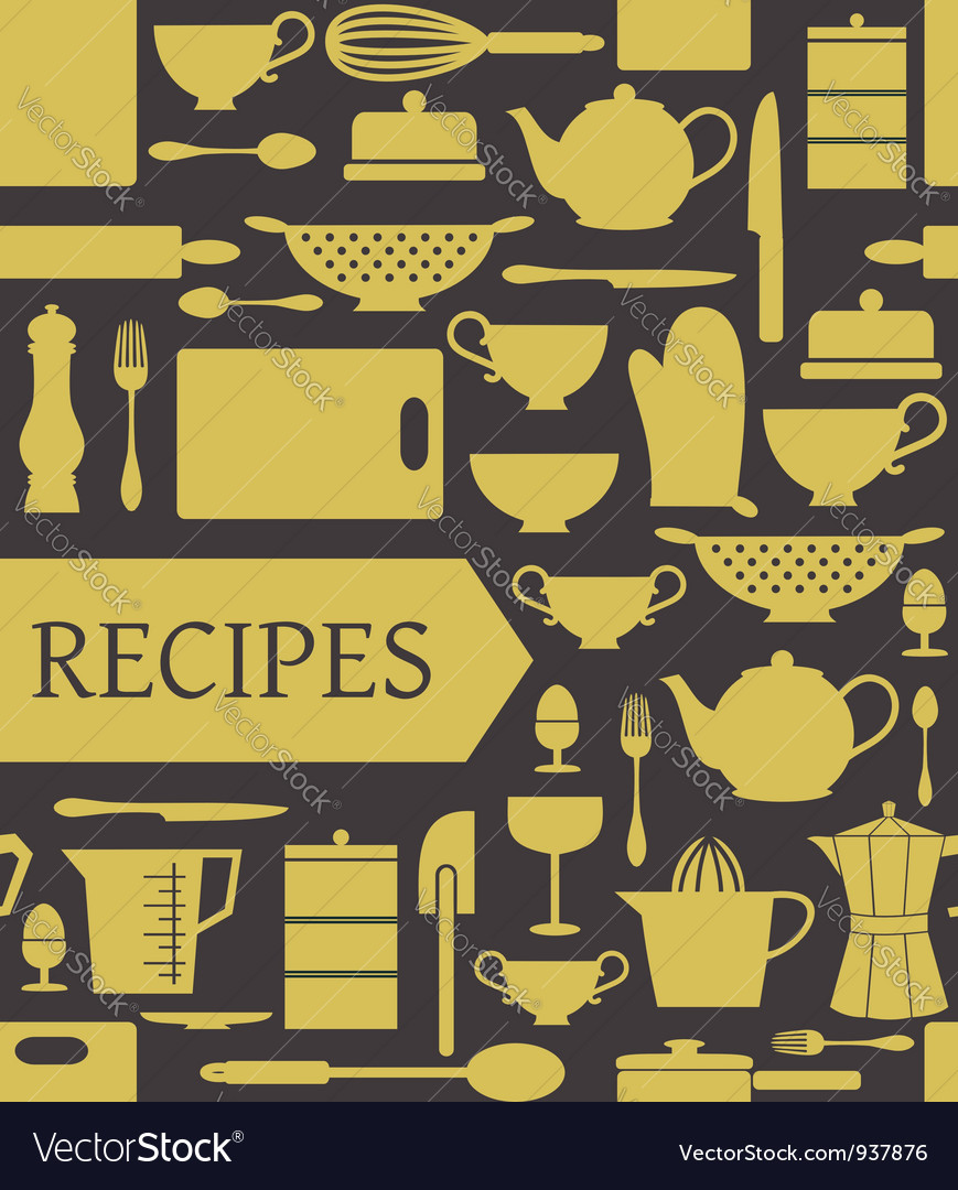 Recipes card vector | Price: 1 Credit (USD $1)