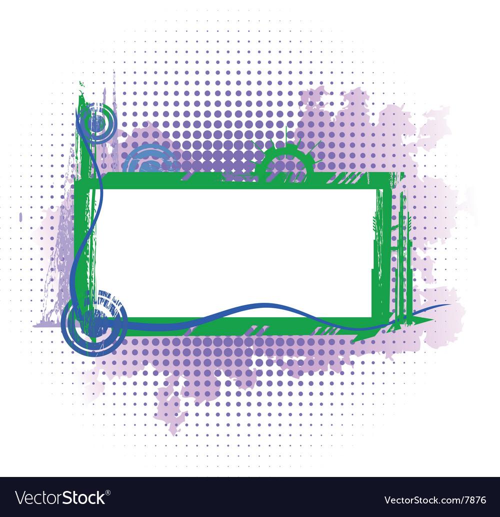 Violet industrial frame vector | Price: 1 Credit (USD $1)