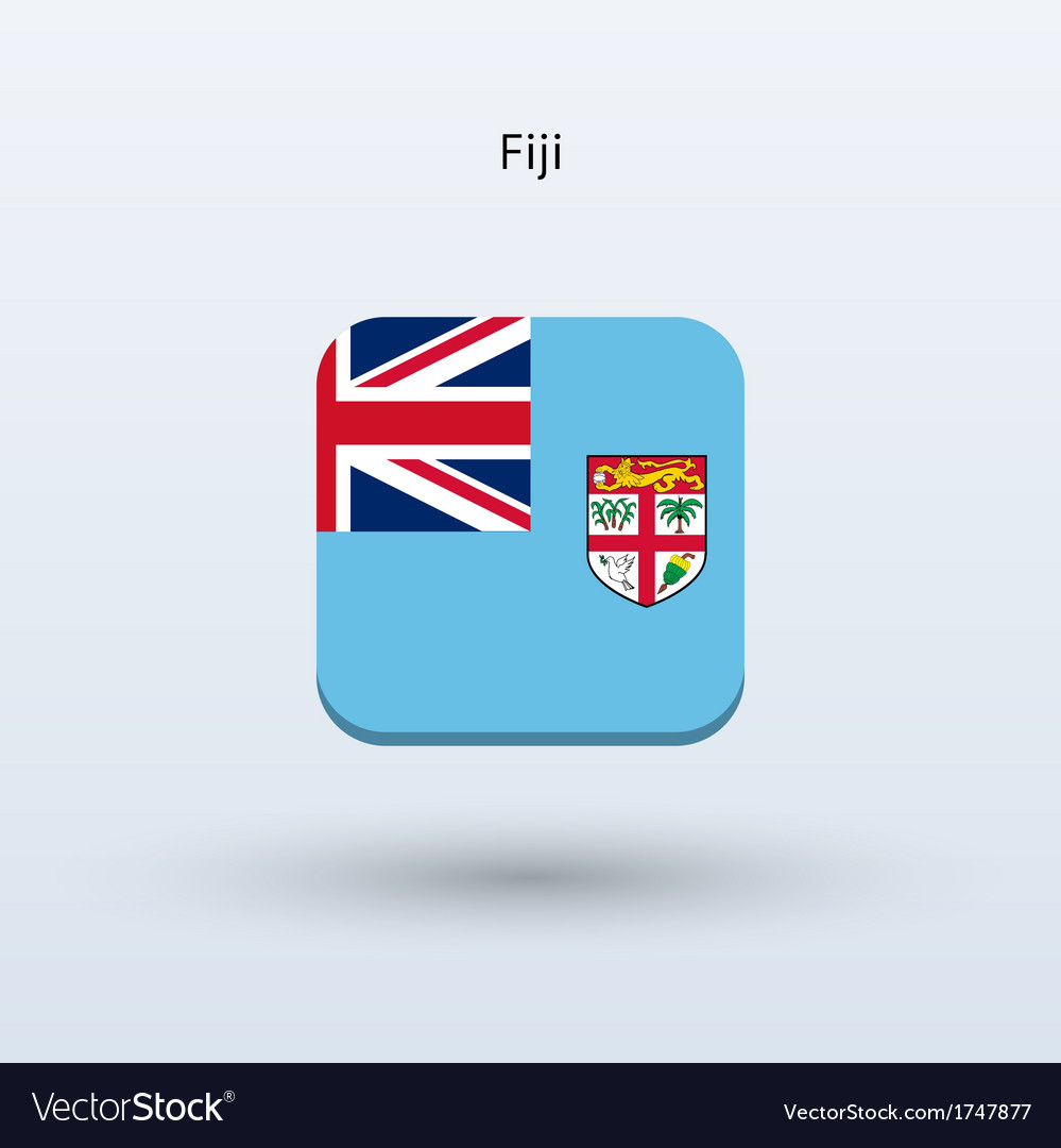 Fiji flag icon vector | Price: 1 Credit (USD $1)