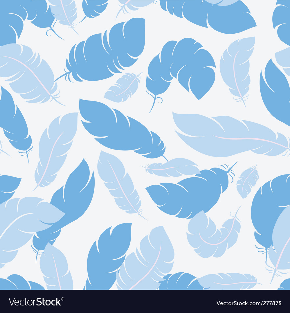 Feather seamless vector | Price: 1 Credit (USD $1)