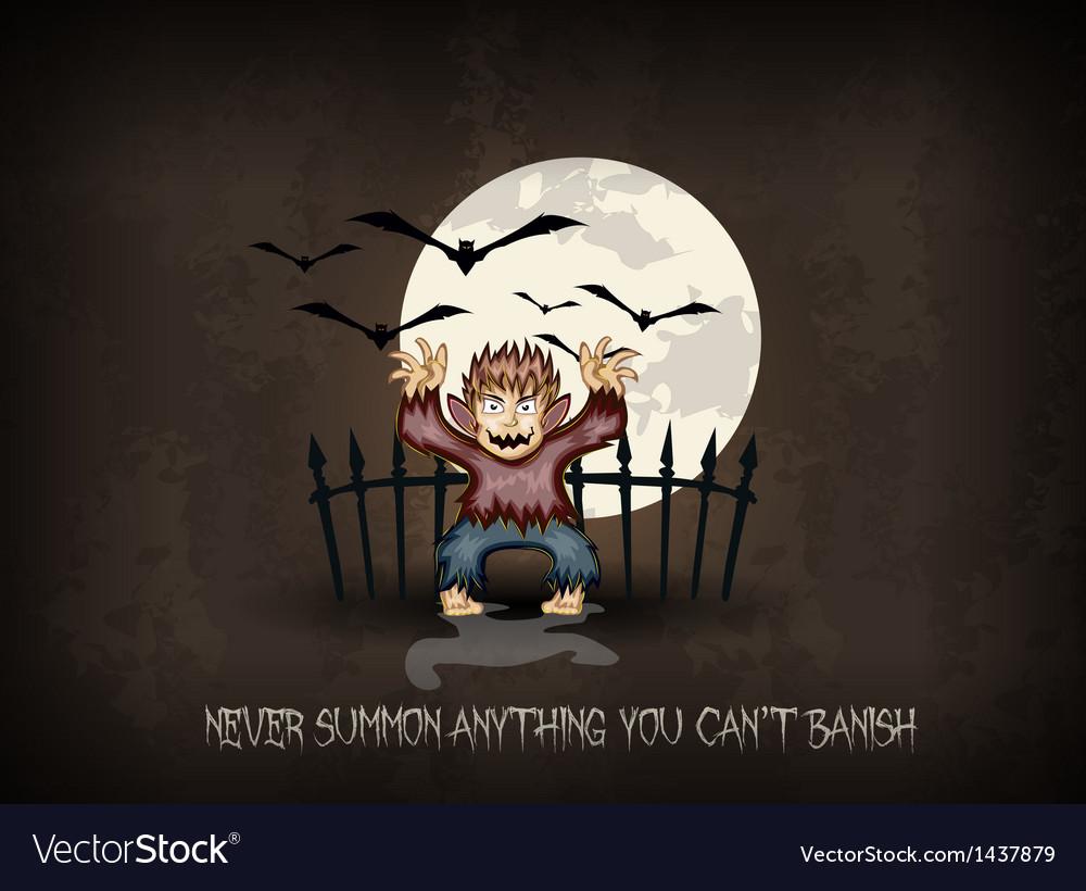 Halloween background vector | Price: 3 Credit (USD $3)
