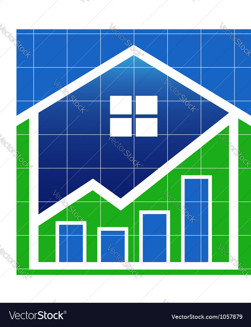 House value market vector | Price: 1 Credit (USD $1)