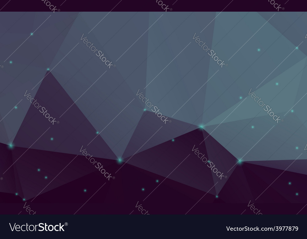 Polygonal abstract background vector | Price: 1 Credit (USD $1)