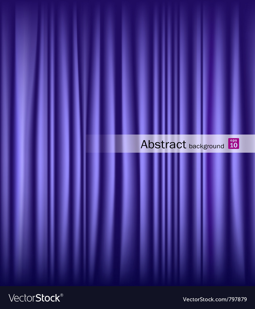 Purple theater curtain vector | Price: 1 Credit (USD $1)