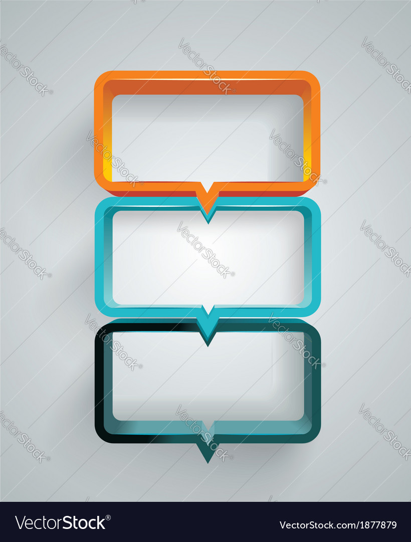 Text box design vector | Price: 1 Credit (USD $1)