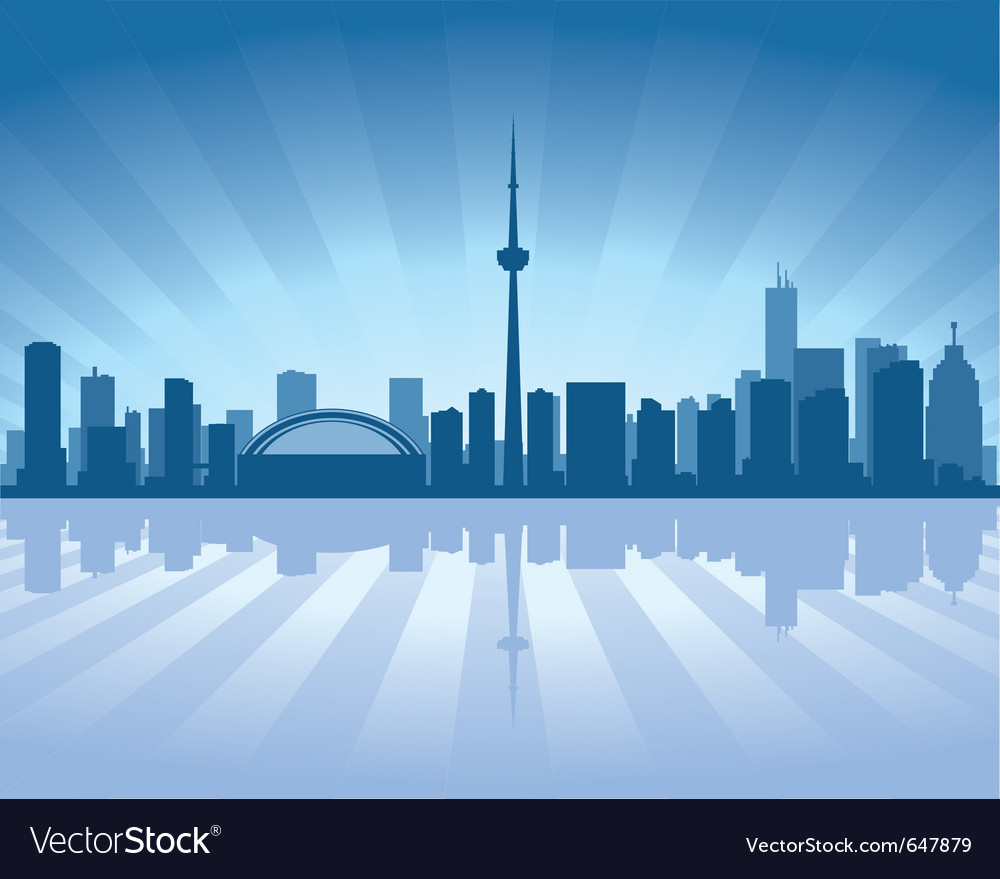 Toronto skyline vector | Price: 1 Credit (USD $1)